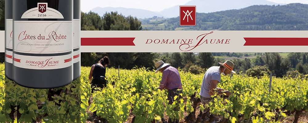 Situated in the village of Vinsobres and tempered by the mistral, Domaine Jaume is the source of exceptional value southern Rhone blends.